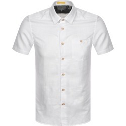 Ted Baker Civiche Short Sleeved Shirt White found on Bargain Bro UK from Mainline Menswear