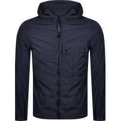 CP Company Goggle Hood Overshirt Jacket Navy found on MODAPINS from Mainline Menswear Australia for USD $530.41