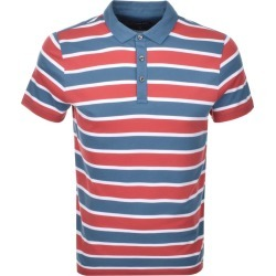 Michael Kors Towel Stripe Polo T Shirt Red found on Bargain Bro UK from Mainline Menswear