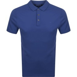 Michael Kors Short Sleeve Polo T Shirt Blue found on Bargain Bro UK from Mainline Menswear
