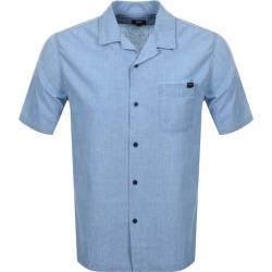 Edwin Short Sleeved Resort Shirt Blue found on Bargain Bro UK from Mainline Menswear