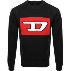 Diesel K LogoX Knit Jumper Black found on Bargain Bro from Mainline Menswear for £70