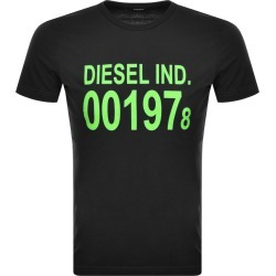 Diesel T Diego Short Sleeved T Shirt Black found on Bargain Bro from Mainline Menswear for £21