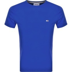 Tommy Jeans Logo T Shirt Blue found on Bargain Bro UK from Mainline Menswear