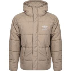 Adidas Originals Superstar Padded Jacket Beige found on Bargain Bro UK from Mainline Menswear