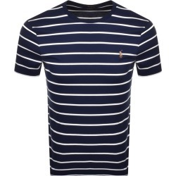 Ralph Lauren Crew Neck Slim Fit T Shirt Navy found on Bargain Bro India from Mainline Menswear Australia for $104.69