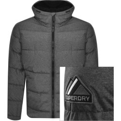 Superdry Padded Sports Jacket Grey found on Bargain Bro UK from Mainline Menswear