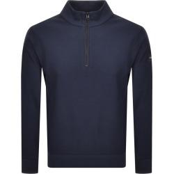 Calvin Klein Half Zip Sweatshirt Navy found on Bargain Bro UK from Mainline Menswear