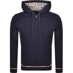 Aquascutum Silverstone Full Zip Hoodie Navy found on MODAPINS from Mainline Menswear Australia for USD $191.06