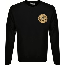 Versace Jeans Couture Logo Sweatshirt Black found on Bargain Bro UK from Mainline Menswear