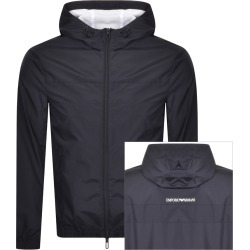 Emporio Armani Full Zip Jacket Navy found on Bargain Bro UK from Mainline Menswear