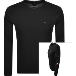 Tommy Hilfiger Essential Long Sleeve T Shirt Black found on Bargain Bro UK from Mainline Menswear