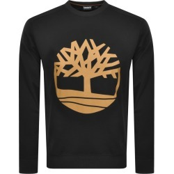 Timberland Crew Neck Logo Sweatshirt Black found on Bargain Bro UK from Mainline Menswear