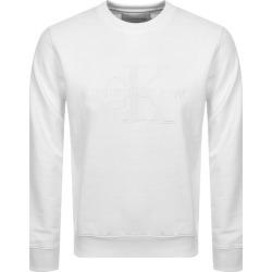 Calvin Klein Jeans Monogram Sweatshirt White found on Bargain Bro UK from Mainline Menswear