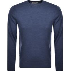 Calvin Klein Crew Neck Knit Jumper Blue found on Bargain Bro UK from Mainline Menswear