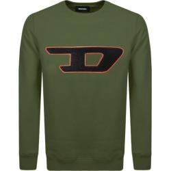 Diesel Division D Logo Sweatshirt Green found on Bargain Bro UK from Mainline Menswear