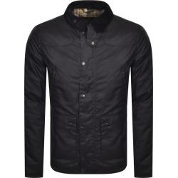 Barbour Reelin Wax Jacket Navy found on Bargain Bro UK from Mainline Menswear
