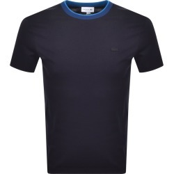 Lacoste Crew Neck T Shirt Navy found on Bargain Bro UK from Mainline Menswear