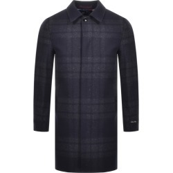 Ted Baker Dudno Oversized Check Jacket Navy found on Bargain Bro UK from Mainline Menswear