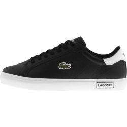 Lacoste Powercourt Trainers Black found on Bargain Bro UK from Mainline Menswear