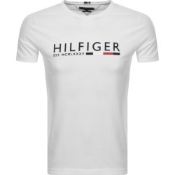 Tommy Hilfiger Logo T Shirt White found on Bargain Bro UK from Mainline Menswear