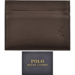 Ralph Lauren Leather Card Holder Brown found on Bargain Bro India from Mainline Menswear Australia for $63.70
