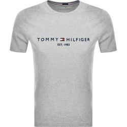 Tommy Hilfiger Logo T Shirt Grey found on Bargain Bro UK from Mainline Menswear