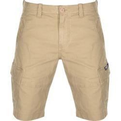 Superdry Core Cargo Lite Shorts Beige found on Bargain Bro UK from Mainline Menswear