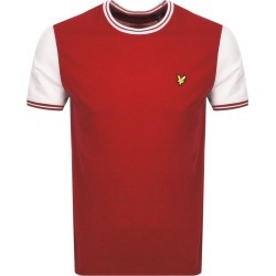 Lyle And Scott Crew Neck Tipped T Shirt Red found on Bargain Bro UK from Mainline Menswear