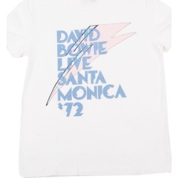 Home > Artists > David Bowie - David Bowie Live In Santa Monica Womens T-Shirt | Size 2X-Large | White | Short Sleeve found on Bargain Bro from Musictoday for USD $22.80