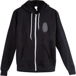 Full-Zip Hoodie | Size Large | Black