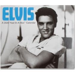 Shopelvis.com - Elvis Presley Year In A Box 2020 Calendar