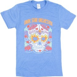 Sugar Skull Short Sleeve T-Shirt   Size Small   Heather Royal found on Bargain Bro India from Musictoday for $30.00