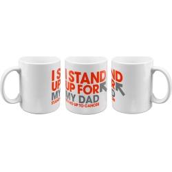 SU2C I Stand Up For My Dad Mug