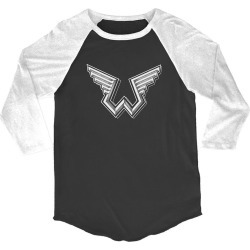 Paul Mccartney - Wings W Logo White/black Raglan T-Shirt | Size Large | Short Sleeve found on Bargain Bro India from Musictoday for $40.00