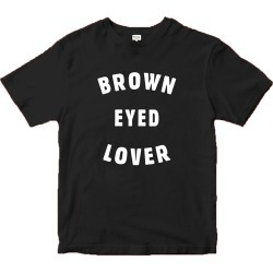 Brown Eyed Lover T-Shirt - Men's | Size Large | Grey | Short Sleeve found on Bargain Bro from Musictoday for USD $19.75
