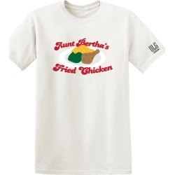 Home > Artists > Old Lady Gang - Aunt Bertha's Fried Chicken T-Shirt | Size XX-Large | White | Short Sleeve found on Bargain Bro from Musictoday for USD $19.00
