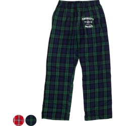 Flannel Lounge Pants | Size Large | Green/Navy