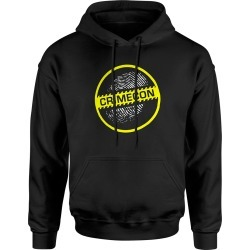 Crimecon Logo Hoodie | Size Large | Black
