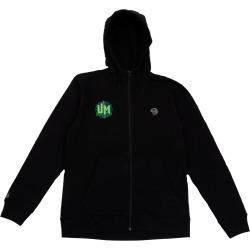 Um X Mhw Vortex Zip Hoodie   Size Small   Black