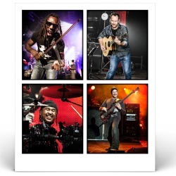 Boyd, Dave, Stefan, Carter - Dave Matthews Band | Size 16X20 found on Bargain Bro India from Musictoday for $550.00
