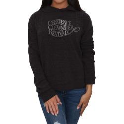 John Fogerty - Ccr Logo Ladies Hoodie | Size Large | Black