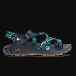 Chaco Woodstock Mens Z Cloud 2 Peace Navy Sandals Shoe   Size 12 found on Bargain Bro India from Musictoday for $110.00