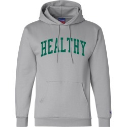 Healthy Hoodie | Size Small | Grey