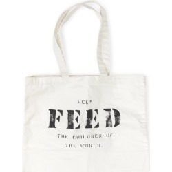 Feed 10 Bag | White