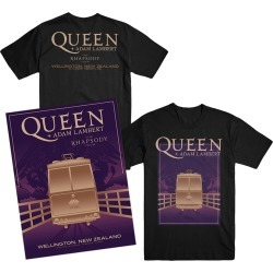 Wellington T-Shirt + Lithograph Bundle | Size Large | Black found on Bargain Bro from Musictoday for USD $64.60