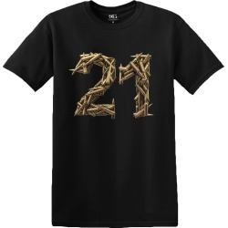 Home > Clearance - 21 Bullets Tour T-Shirt | Size Small | Black | Short Sleeve found on Bargain Bro from Musictoday for USD $14.43