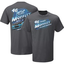 Thad Moffitt #46 2019 Nascar Performance Plus T-Shirt | Size Large | Grey | Short Sleeve found on Bargain Bro from Musictoday for USD $18.96