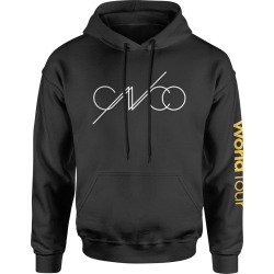 Cnco - 2019 North American Tour Hoodie   Size Small   Black