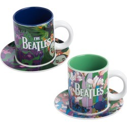 The Beatles - Yellow Submarine 4 Pc. Cup & Saucer Set